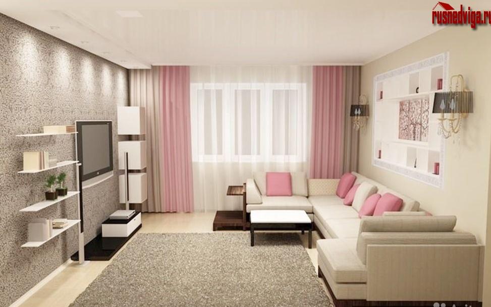 Дизайн гостиных комнат обычных квартир фото